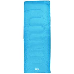 Saco de dormir rectangular Highlander Sleepline 250 en azul celeste