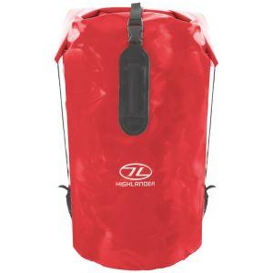 Saco marinero Highlander Troon Drybag de 70l en rojo
