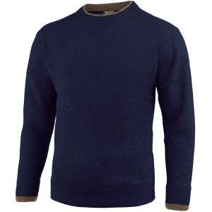 Suéter de cuello redondo Jack Pyke Ashcombe en Navy