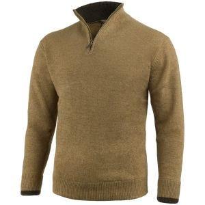 Suéter con cremallera en el cuello Jack Pyke Ashcombe en Barley