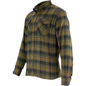 Camisa de franela Jack Pyke en marrón