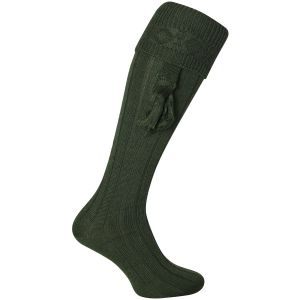 Calcetines de tiro lisos Jack Pyke en verde