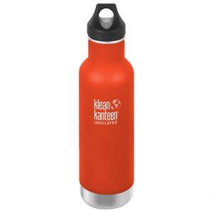 Botella térmica Klean Kanteen Classic con tapón con agujero de 592 ml en Sierra Sunset