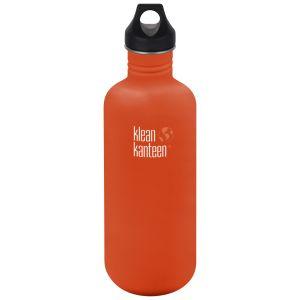 Botella Klean Kanteen Classic con tapón con agujero de 1182 ml en Sierra Sunset