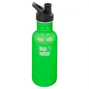 Botella Klean Kanteen Classic con tapón deportivo 3,0 de 532 ml en Spring Green
