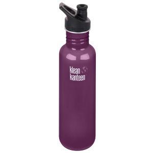 Botella Klean Kanteen Classic con tapón deportivo 3,0 de 800 ml en Winter Plum