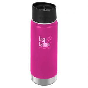 Botella térmica Klean Kanteen Wide Mouth con tapa 2.0 con agujero para beber de 473 ml en Wild Orchid