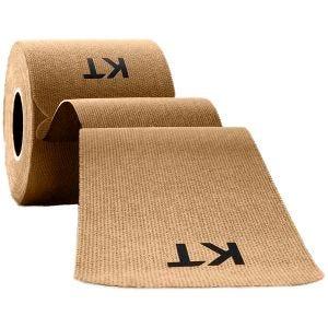 Cinta adhesiva de algodón KT Tape tiras individuales de 25,4 cm en beige