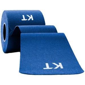 Cinta adhesiva de algodón KT Tape tiras individuales de 25,4 cm en azul
