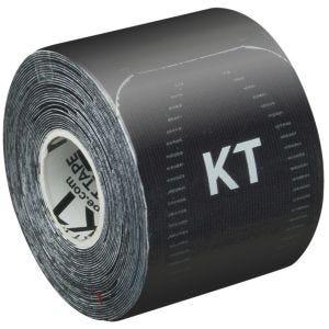 Cinta adhesiva KT Tape Synthetic Pro tiras individuales de 25,4 cm en Jet Black