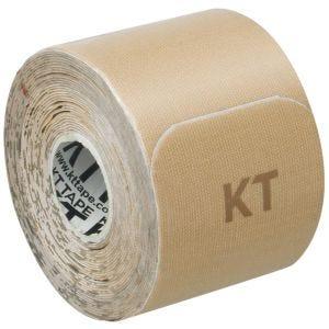 Cinta adhesiva de algodón KT Tape Gentle tiras individuales de 25,4 cm en beige