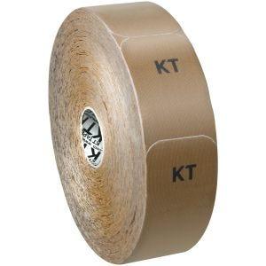 Cinta adhesiva de algodón KT Tape tiras individuales en rollo grande en beige