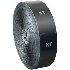 Cinta adhesiva de algodón KT Tape tiras individuales en rollo grande en negro
