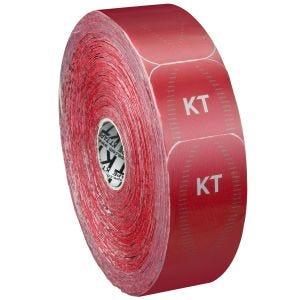 Cinta adhesiva KT Tape Synthetic Pro tiras individuales en rollo grande en Rage Red