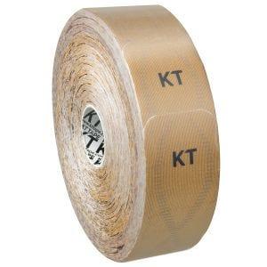 Cinta adhesiva KT Tape Synthetic Pro tiras individuales en rollo grande en Stealth Beige