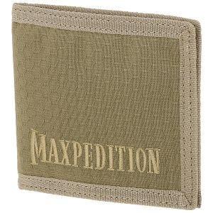 Cartera plegable en dos secciones Maxpedition en Tan
