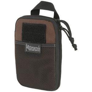 Organizador de bolsillo de uso diario Maxpedition E.D.C. en marrón oscuro