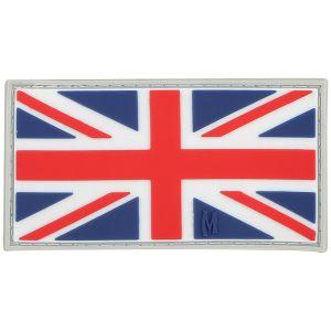 Parche con bandera del Reino Unido Maxpedition a color