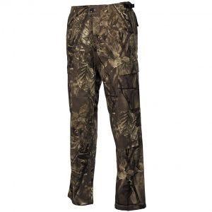 Pantalones MFH BDU Combat de Ripstop en Hunter Marrón