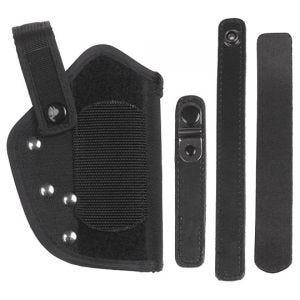 Funda de pistola para cinturón MFH Walther P38/P1 en negro