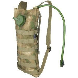 Set de hidratación MFH con bolsa y funda MOLLE en HDT Camo FG