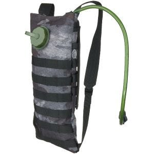 Set de hidratación MFH con bolsa y funda MOLLE en HDT Camo LE