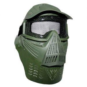 Máscara protectora MFH Visual para paintball en verde oliva
