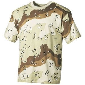 Camiseta MFH en Desert 6 Colores