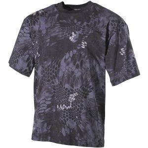 Camiseta MFH en Snake Black