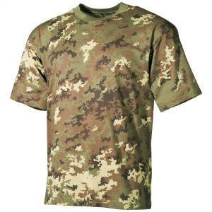 Camiseta MFH en Vegetato Woodland