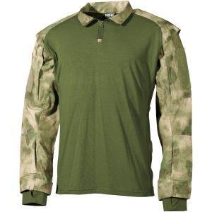 Camisa táctica MFH US en HDT Camo FG