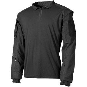 Camisa táctica MFH US en negro
