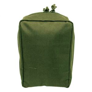 Bolsa para kit de primeros auxilios MFH con sistema MOLLE en verde oliva