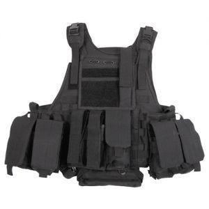Chaleco MFH Tactical con sistema MOLLE en Ranger Black