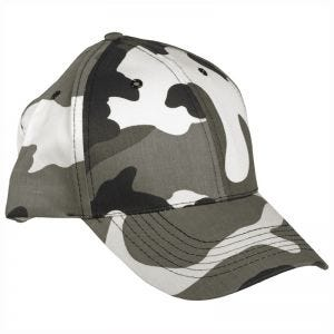 Gorra de béisbol Mil-Tec con banda de plástico en Urban