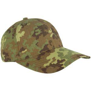 Gorra de béisbol Mil-Tec de Ripstop con hebilla metálica en Vegetato Woodland
