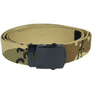 Cinturón de tela Mil-Tec en Desert 6 Colores