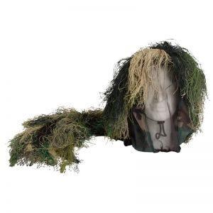 Gorro de camuflaje con vegetación Mil-Tec en Woodland