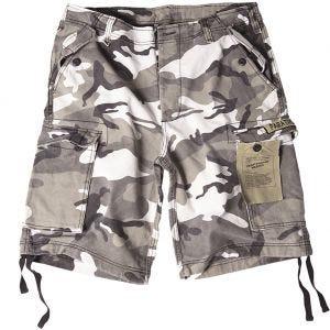Pantalones cortos prelavados estilo cargo de paracaidista militar Mil-Tec en Urban
