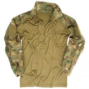Camisa con coderas Mil-Tec Warrior en Arid Woodland