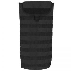 Pack de hidratación Mil-Tec con sistema MOLLE en negro