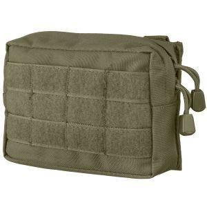 Bolsa para cinturón Mil-Tec compatible con sistemas MOLLE pequeña en verde oliva