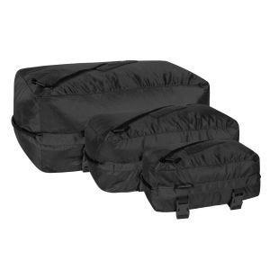 Set de bolsas Helikon Pakcell de Ripstop en negro