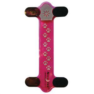 Funda para collar de perro LED Nite Ize Nite Dawg en rosa