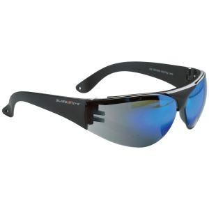 Gafas Swiss Eye Outbreak Protector con montura negra y lentes azules espejadas