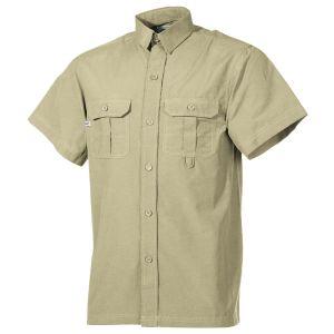 Camisa de manga corta para exteriores Fox Outdoor en caqui
