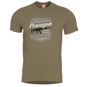 Camiseta Pentagon Ageron A.C.R. en Coyote