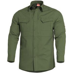 Camisa táctica Pentagon Plato en Camo Green