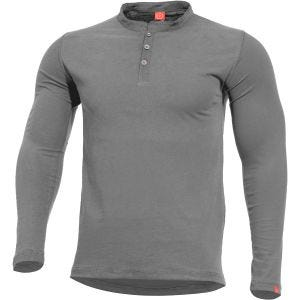 Camiseta Pentagon Romeo Henley en Wolf Grey