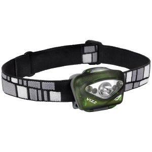 Linterna frontal Princeton Tec Vizz Led con carcasa en verde